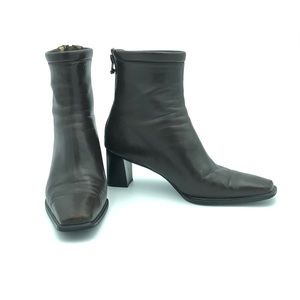 Stuart Weiztman Ankle Boots Brown